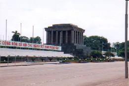 Ho Chi Minh mausoleet