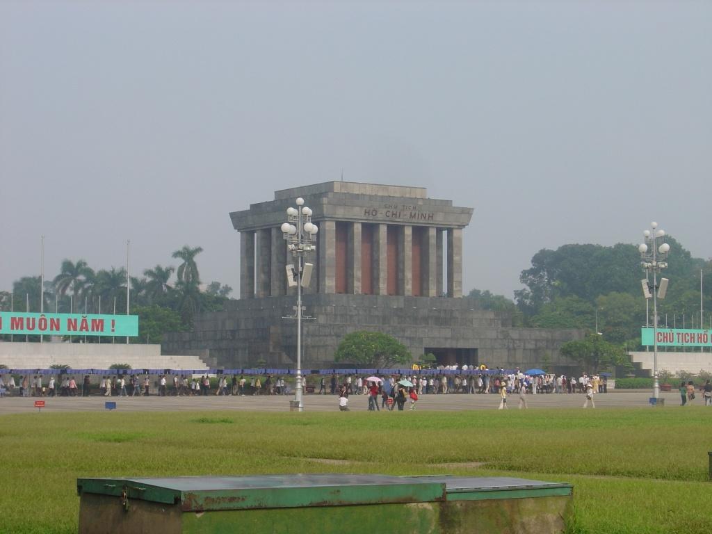 Ho Chi Minh mausolæum