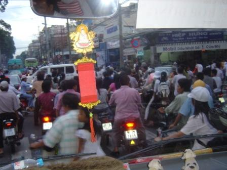 Trafikken i Saigon