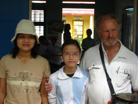 Luu, Chau og Henning