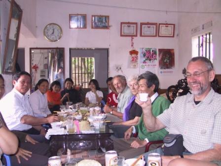 Frokost i Pku Ku 80 km fra Hanoi