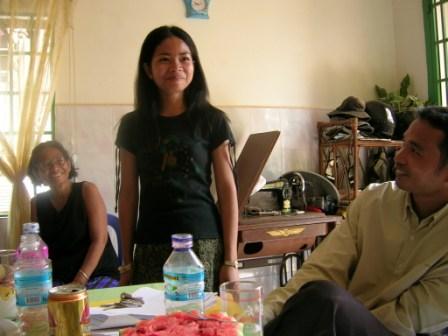 Rantha,Sambath og deres mor