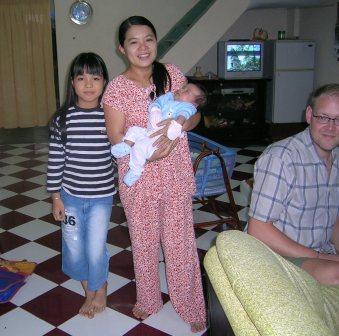 Thao med søn ,MiMi og Jesper