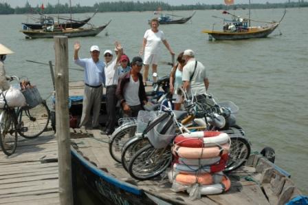 Bådtur i nærheden af Hoi An