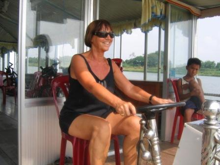 Lone på bådtur