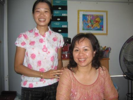Thuy og hendes direktør