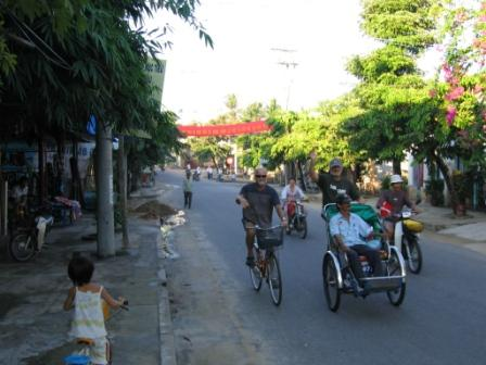 Cykeltaxa til stranden