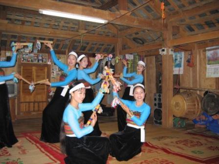 Hvid Thai dans
