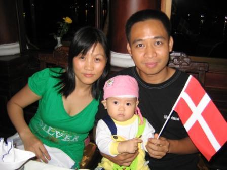 Khao og Man og datter
