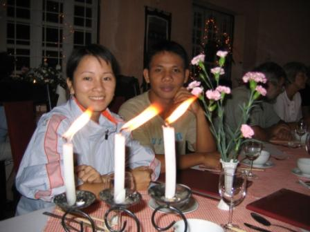 Oanh og Ahn