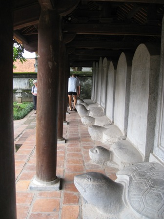 Stentavlerne ved litteraturmuseet