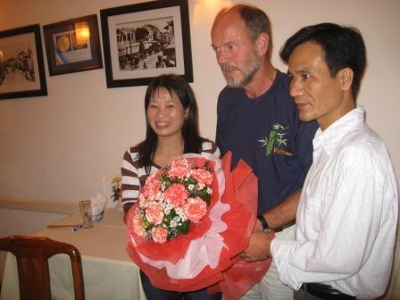 Blomster til John