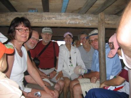 Båd fra Hoi An til en af øerne
