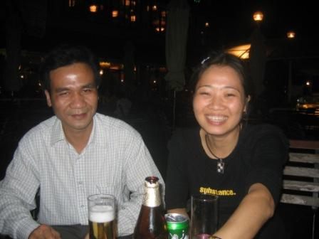 Thuy og hendes mand Hinh