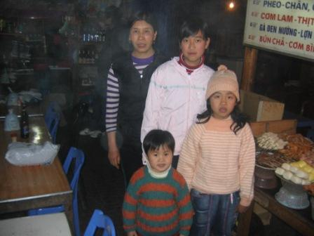 Luyen og Phung dung i Sa Pa