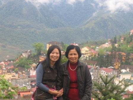 Thuy og hendes mor