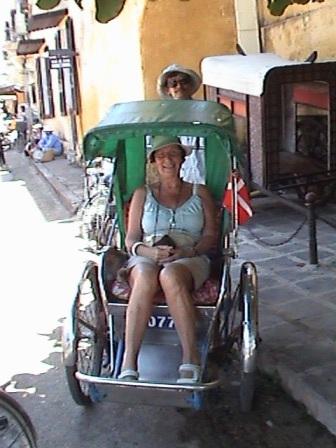 Ingelise og cyklomand Van