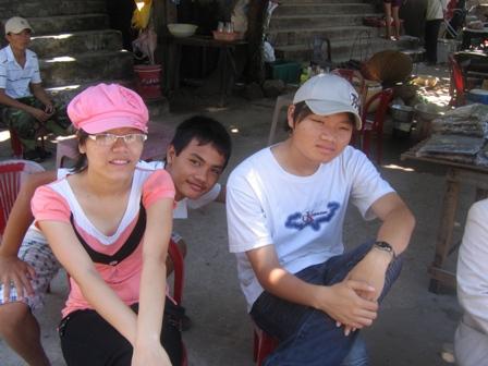 Cham Island: Chau og Huy