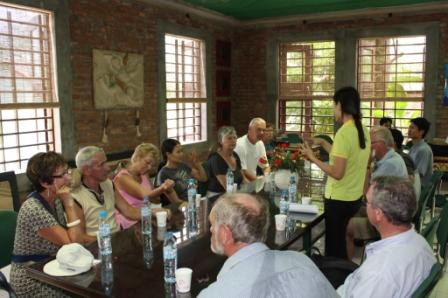 Besøg i landsbyen Konferencerum