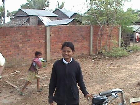 Gaveuddeling i landsbyen