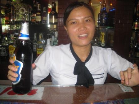 Trang på restauration på Hai Yen
