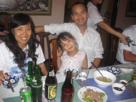 Trang, datter og Moi