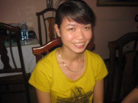 Ansat: Thuy på hotellet i Hoi An