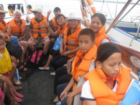 Sejltur fra Hoi An til Cham Island