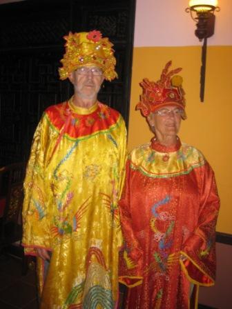 Kejser og dronning