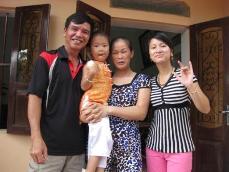 Oanhs familie