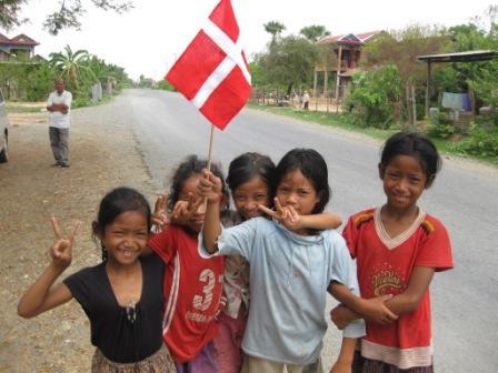 Børn i Phnom Penh.