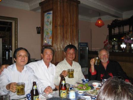 Nan, Mao, Sy og Henning