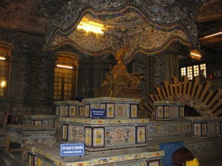 Khai Dihn mausoleum