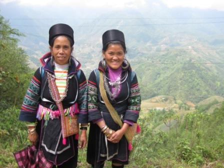 Black Mong på vores trekking