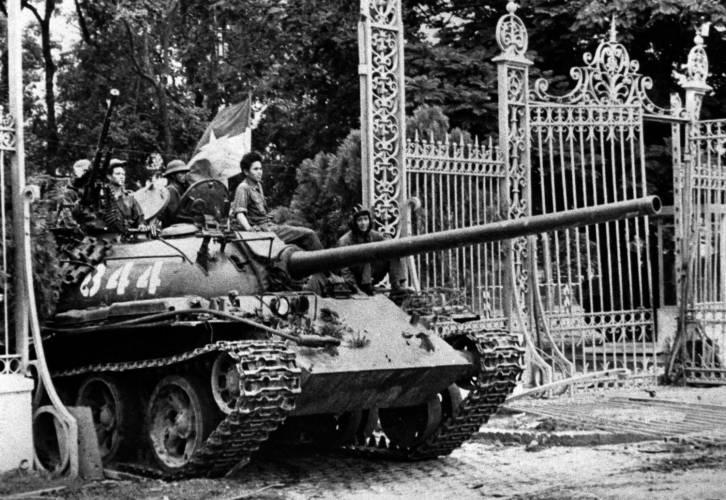 Præsidentpaladset 30.4.1975