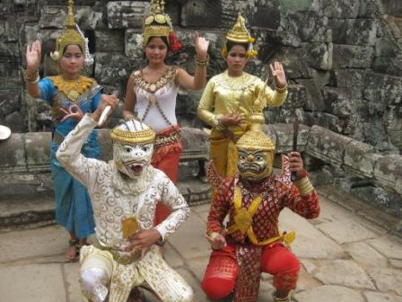 Ved Angkor Wat