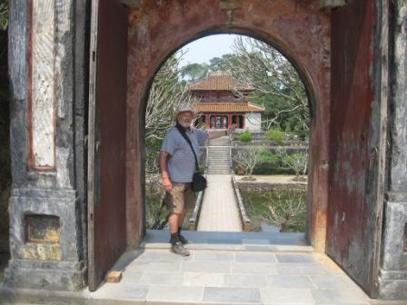 Ved Minh Mang mausouleum