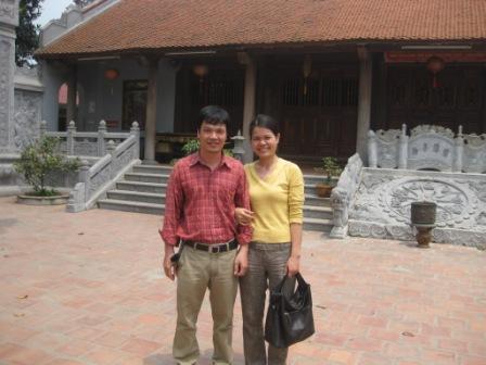 Kieu Anh og hendes mand