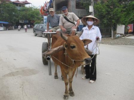På tur i en buffalo car