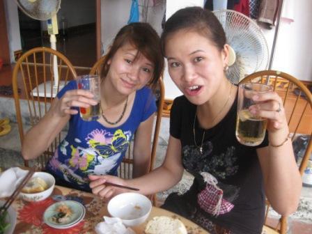 Oanh og hendes søster