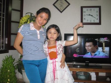 Thu og datter