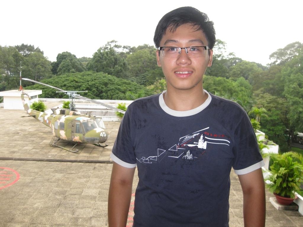 Trang ved præsidentpaladset