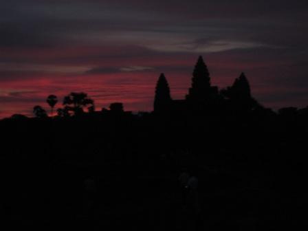 Solopgang Angkor Wat