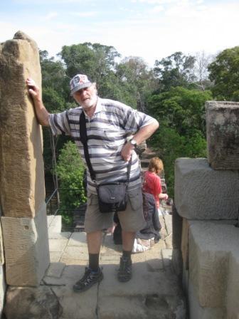 Det store hindutempel i Angkor