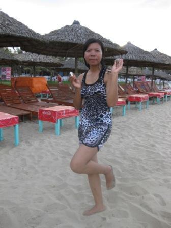 Sophal ved stranden