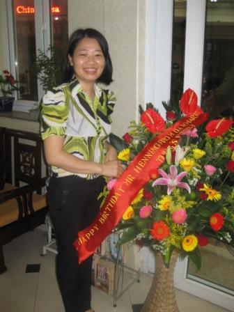 Blomster fra Thuy