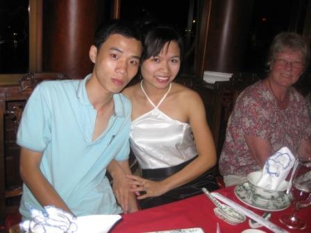 Minh, Hang og Inge