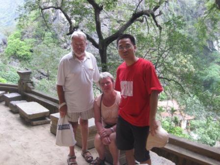 Georg, Inge og Khoa