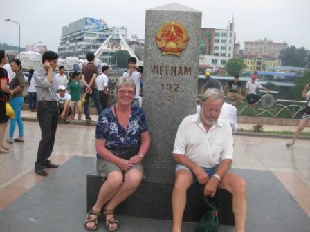 Ved grænsen til Kina